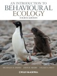 BIOL 307 AN INTRODUCTION TO BEHAVIOURAL ECOLOGY 4TH ED.