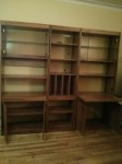 3 book shelves or wall unit – FREE DELIVERY ON JAN 5TH ONLY