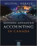 Modern Advanced Accounting in Canada (Financial Accounting 3): Hilton, Herauf (CCFC 513)