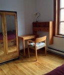 room available in a sunny flat / price reduced if you can help translate my papers in good English