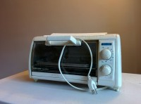 MICROWAVE, TOASTER OVEN, FAN – $10 !!