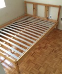 Double Sized Wood Bedframe