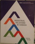 CORG 553-751 Industrial Relations in Canada