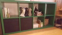 Green Book shelf