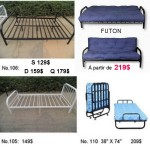 New Mattress, Bed frame and Futon for sale