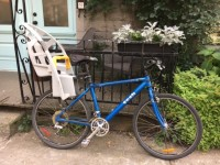 Terrific and reliable bike for sale (with child seat)