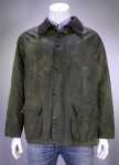 BAROUR * Mint Green 'Bedale' Waxed Barn Jacket w/ Acrylic Liner C50/127 cm/Med