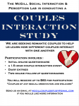 McGill Couples Study