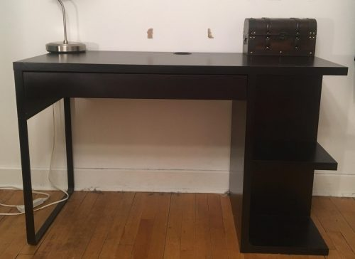 Dark Brown IKEA Desk – Lightly Used | Marketplace – Students
