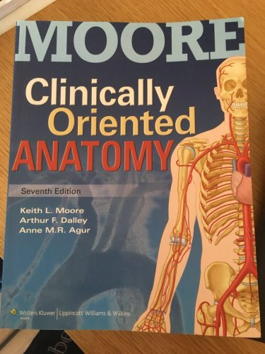 Moore Clinically Oriented Anatomy | Marketplace – Students\' Society ...