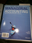 Managerial Accounting: Tools for Business Decision Making, 5th (Canadian Edition)