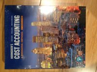 Cost Accounting by Horngren 8th edition