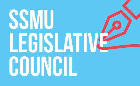 SSMU Banner (Web) Monday - Legislative Council