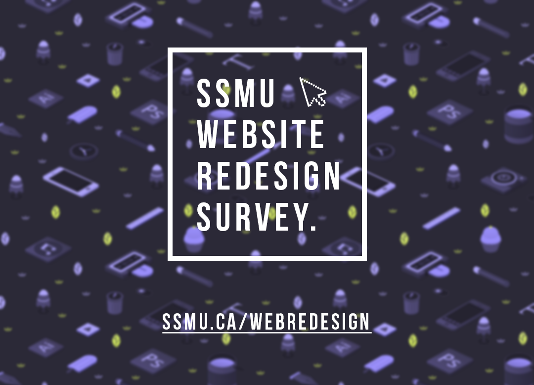 SSMU Website Survey - SSMU Screens