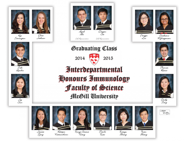2014-2015 Science---Interdepartmental-Honours-Immunology