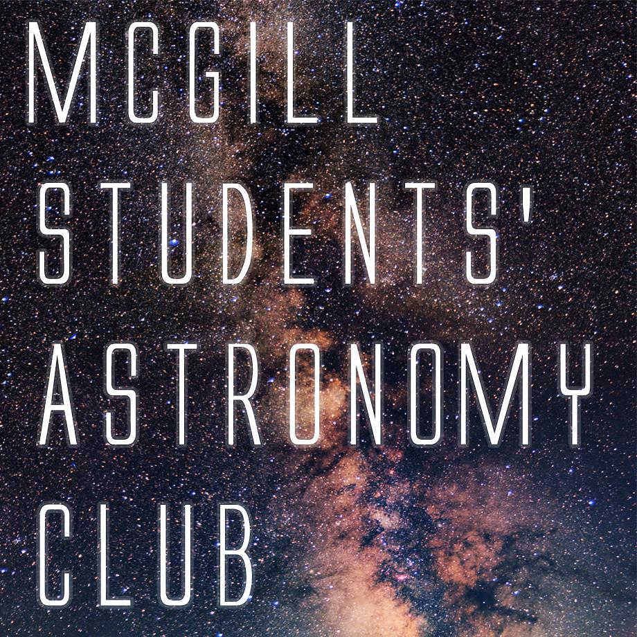 McGill Students' Astronomy Club