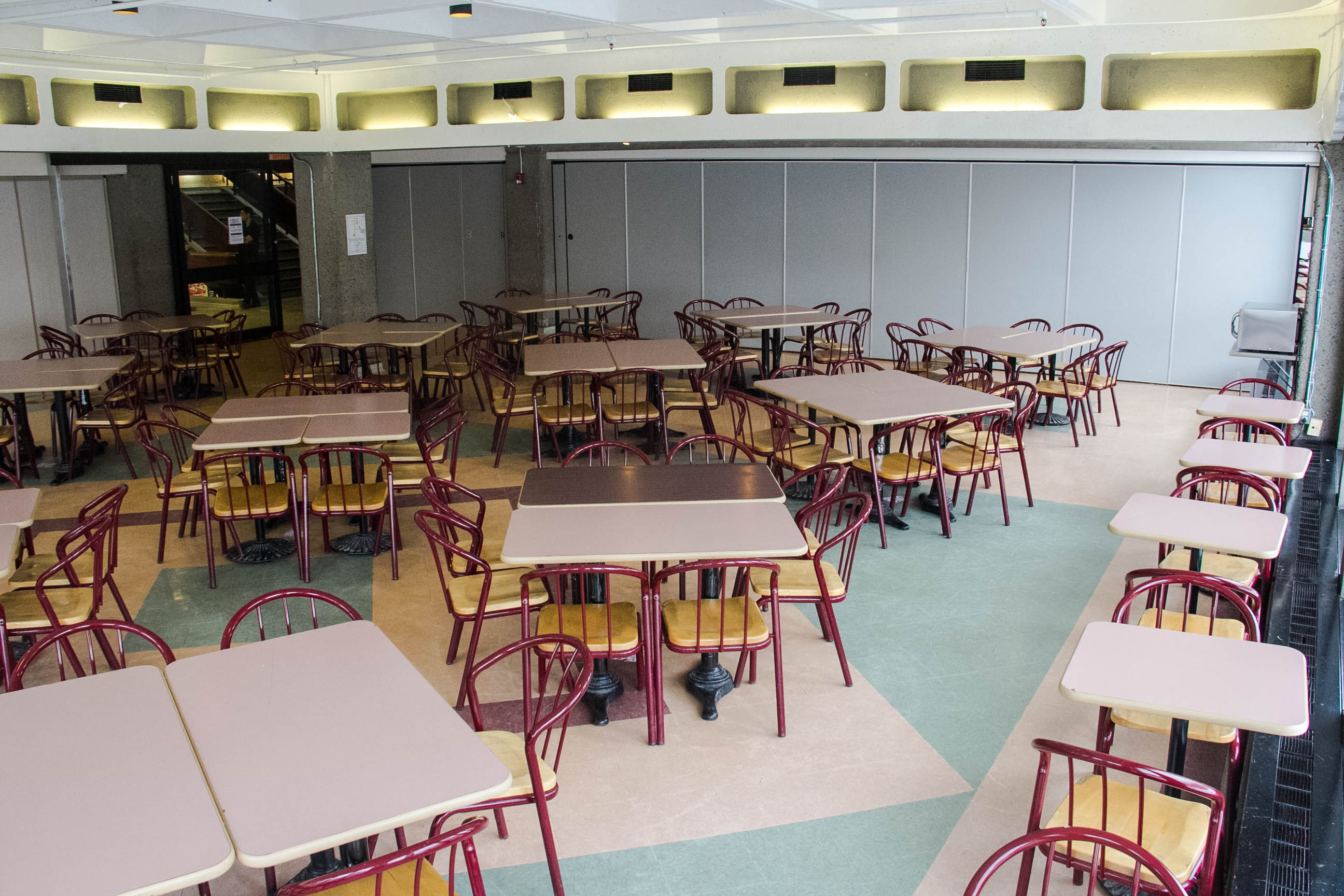 South Side Cafeteria Room - University Centre
