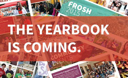 The yearbook is coming!