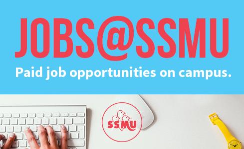 Recruitment Period for SSMU has begun!