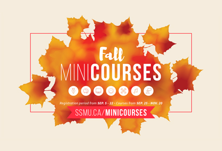 Register to Fall Minicourses
