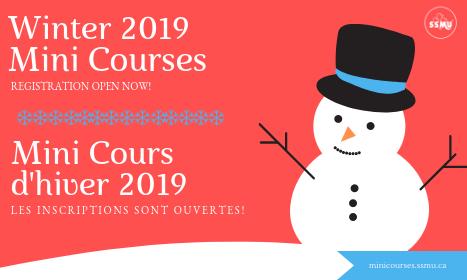 Mini Cours d'hiver 2019