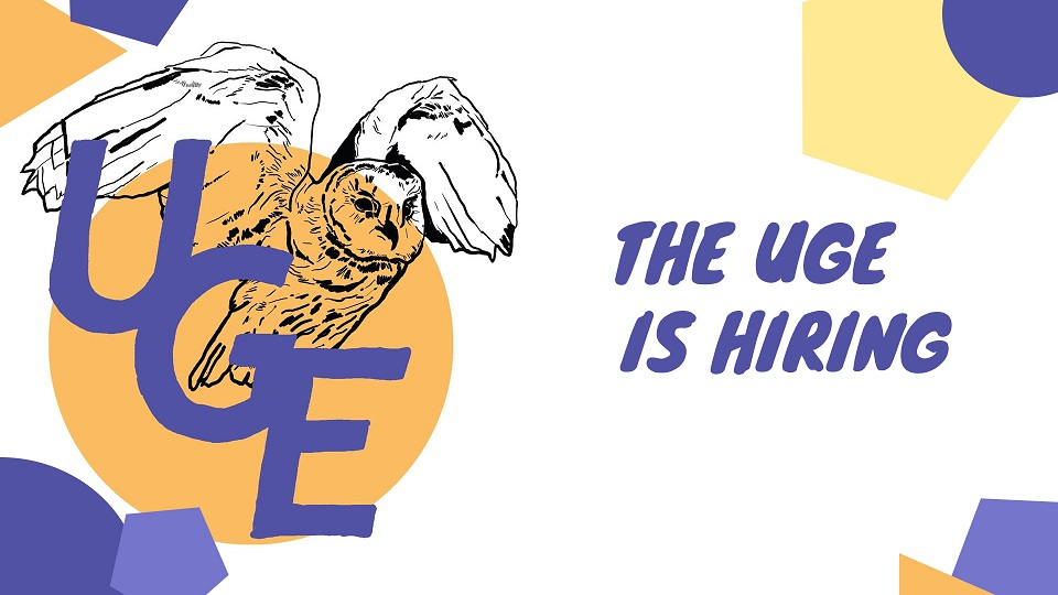 The UGE is Hiring!