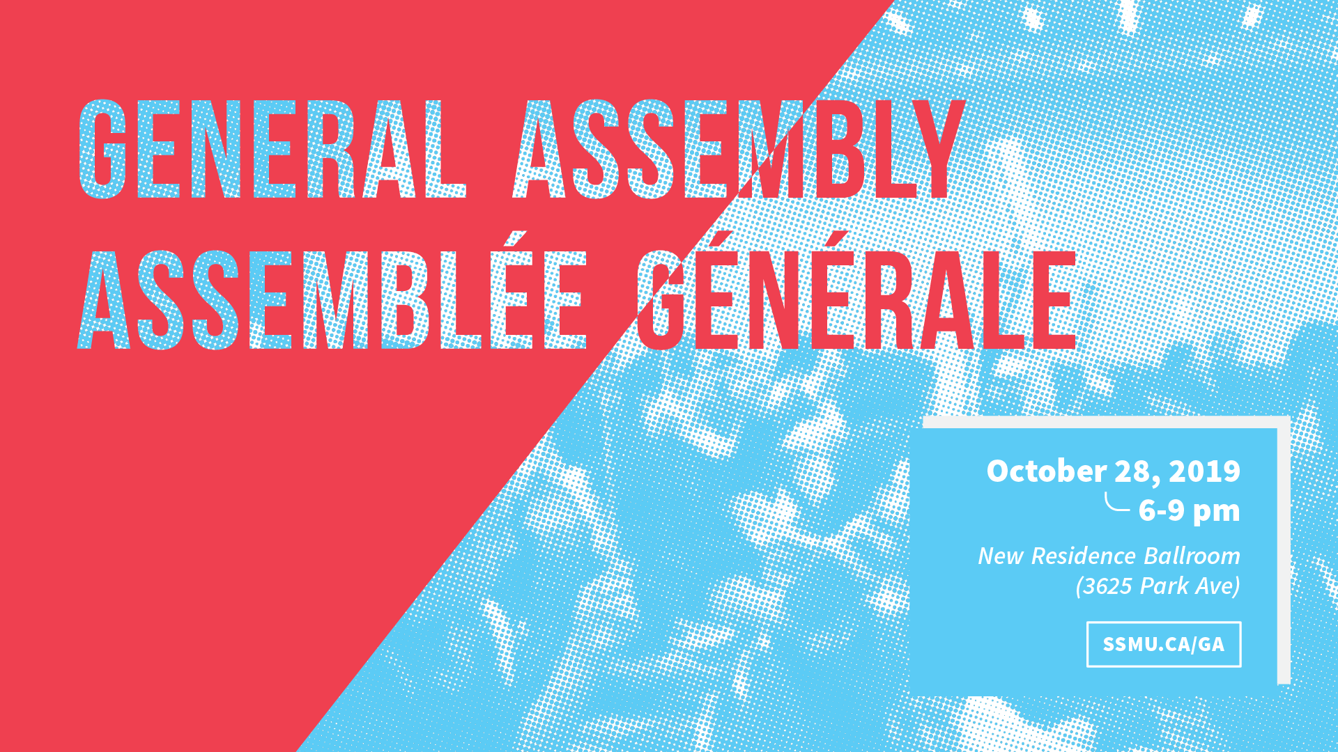 SSMU's Fall General Assembly