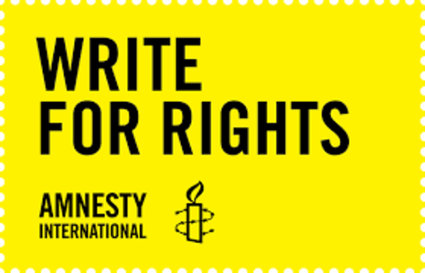 Write For Rights - Letter Writing  5@7 Against Law 21