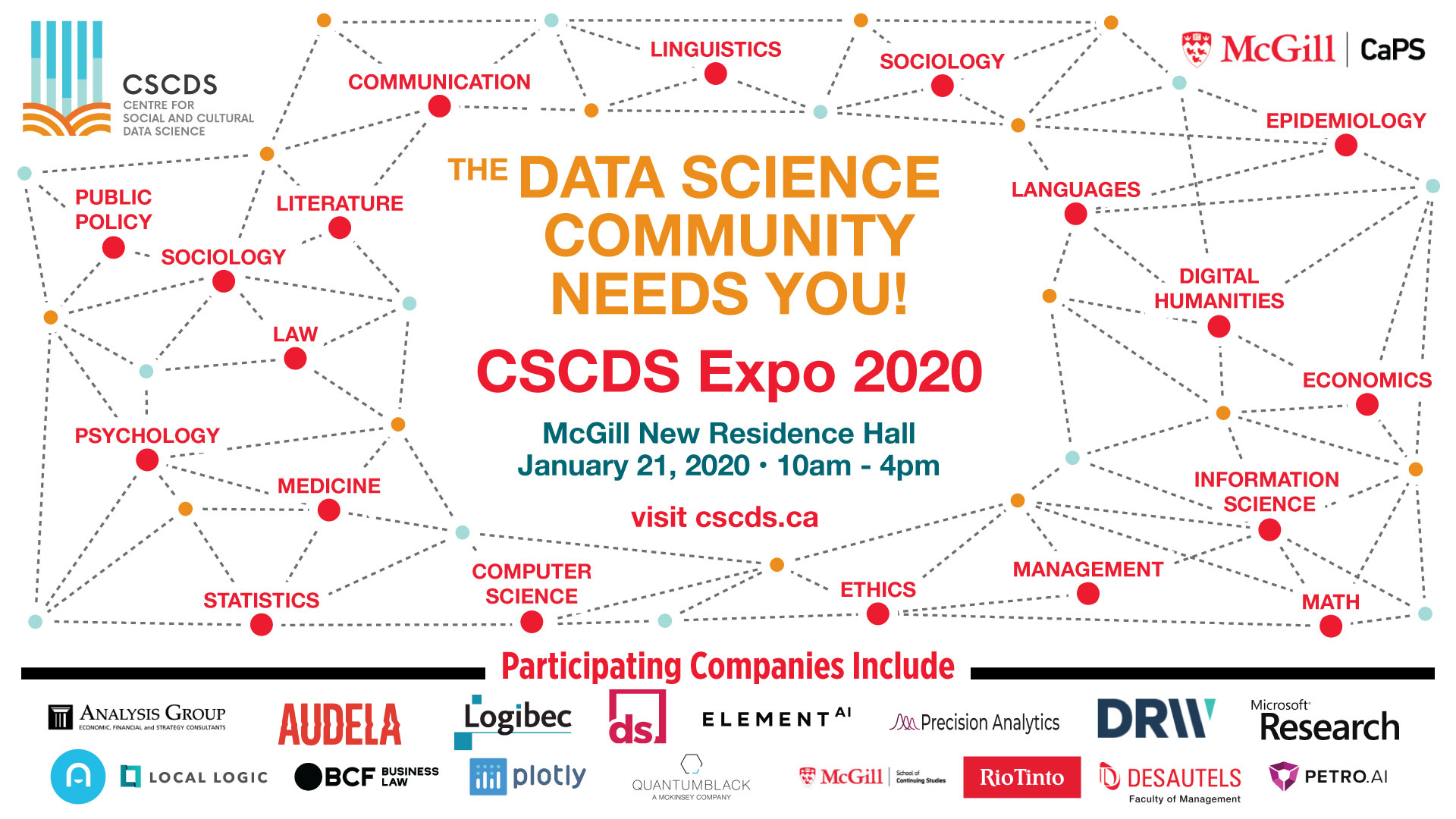 CSCDS Data Science Community Expo