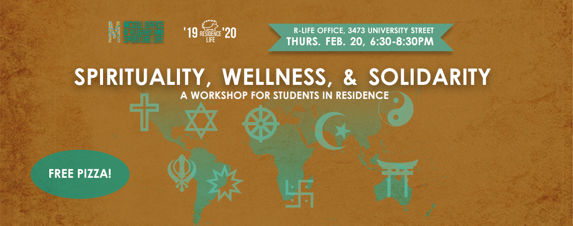 Spirituality, Wellness, and Solidarity: A Workshop for Students in Residence