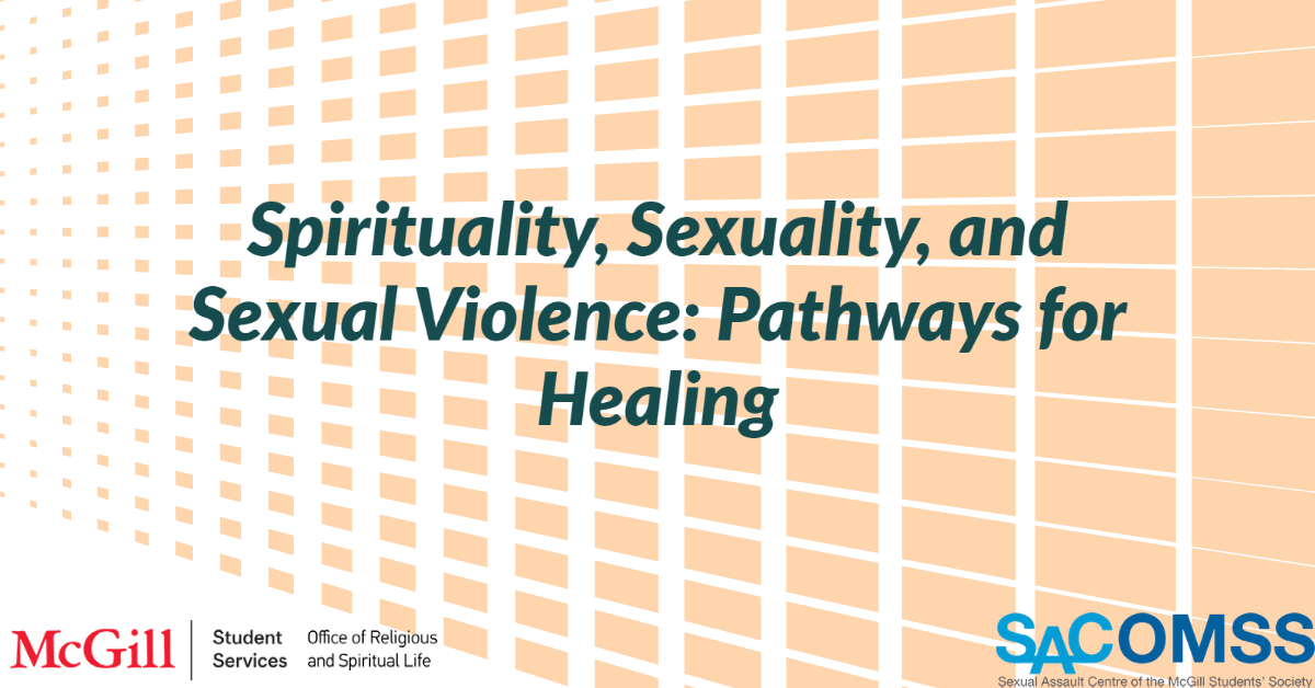 Spirituality, Sexuality, and Sexual Violence: Pathways for Healing
