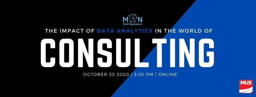 MDN: The Impact of Data Analytics in the World of Consulting