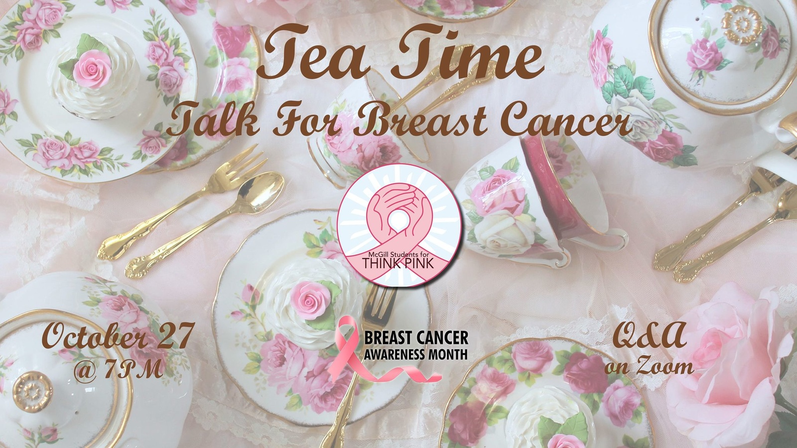 Tea Time Talk for Breast Cancer