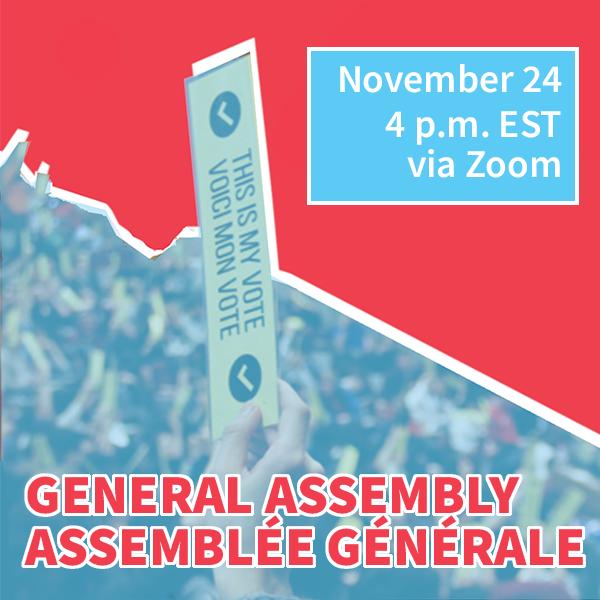 SSMU Fall 2020 General Assembly