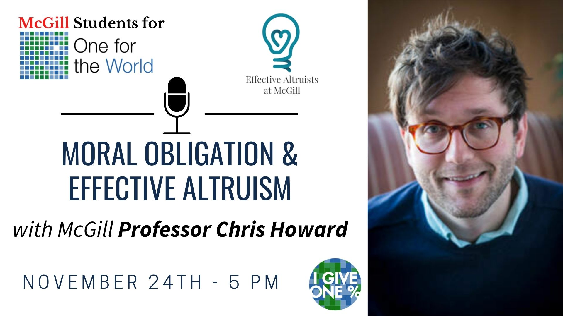 Event: Moral Obligation and Effective Altruism