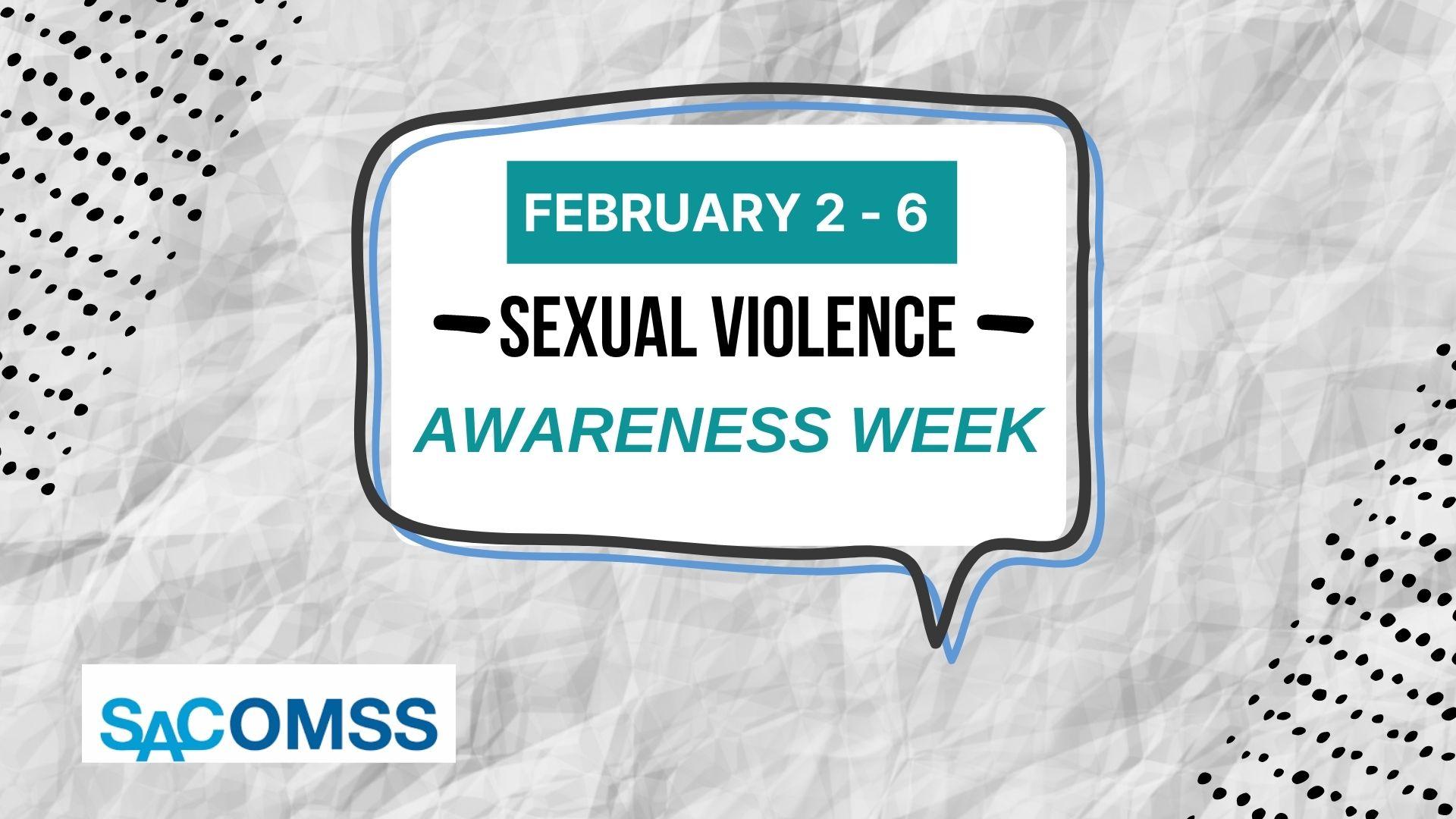 Sexual Violence Awareness Week 2021