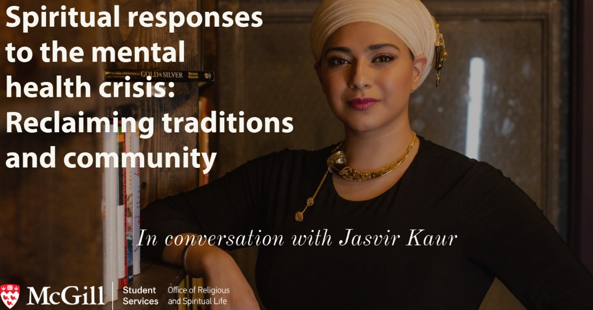 Spiritual responses to the mental health crisis: Reclaiming traditions and community