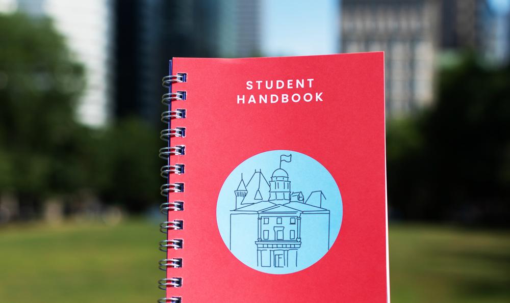 Access the SSMU Student Handbook Online