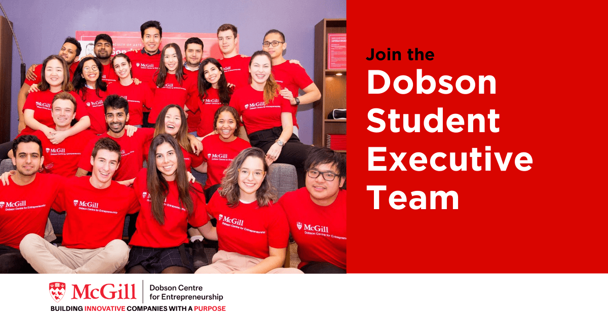 Join the Dobson Student Executive Team